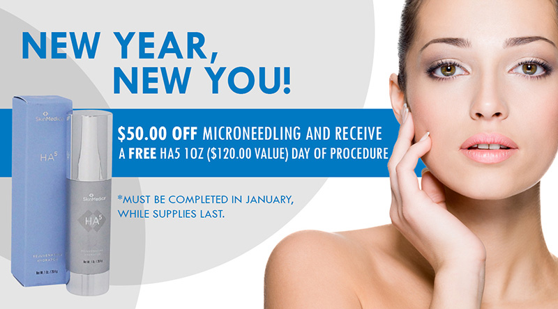 January 2020 Specials at Orchard Park for Dermatology products