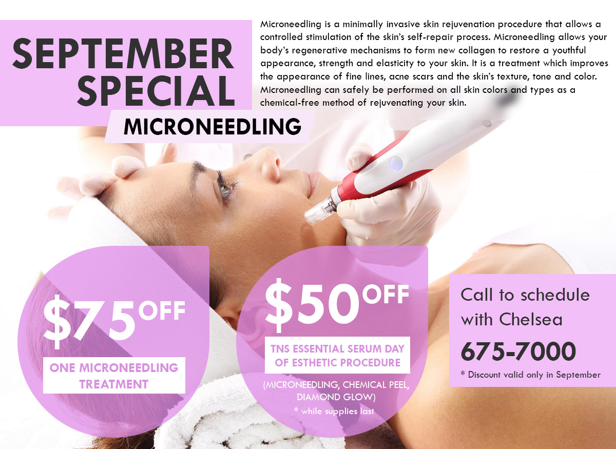 September Special at Orchard Park Dermatology NY