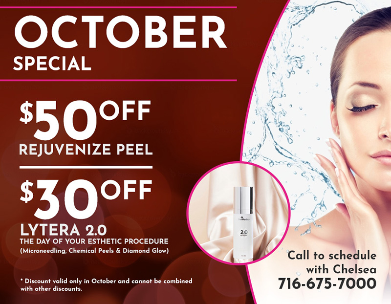 October Special at Orchard Park Dermatology NY